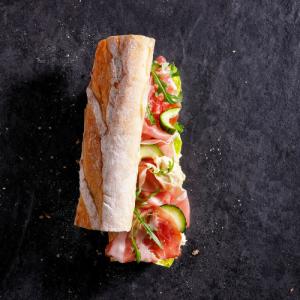 Hush Broodje Rauwe Ham